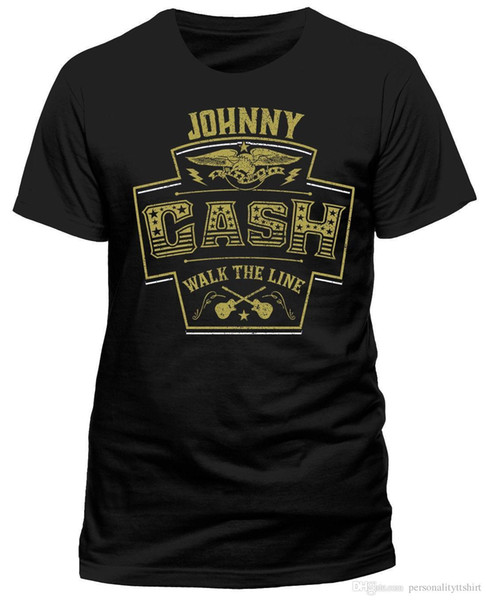Johnny Cash 'Line' T-Shirt Walk - YENİ RESMİ