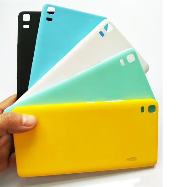 Original Battery Back Cover Phone Housing Case For Lenovo K3 Note K50 k50-t3s A7000 battery door phone housing case+side button