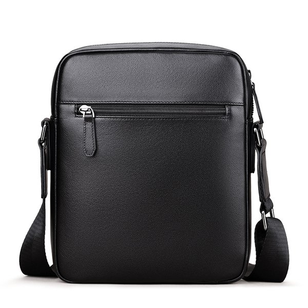 business man, shoulder bag, youth casual leather authentic fashion briefcase