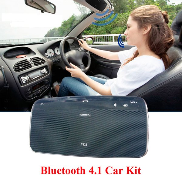 Altavoz del coche del Bluetooth del en-coche del teléfono dual que conecta el Presidente libre del kit del coche de Bluetooth de las manos para los teléfonos inteligentes de Iphone