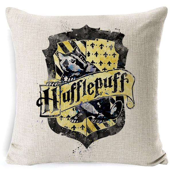 Harry Potter Cuscino di Cotone de Tela Calice di Fuoco Doni Della Morte Casa Copertura del Cuscino Decorativo por Divano Fodere per Cuscini