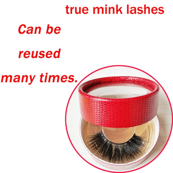 Real mink hair full strip lash hand made long lasting thick long permanent eyelashes shining eyes false winged messy fake lashes GR234