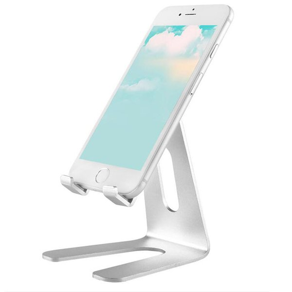 CJph3 Universal Mobile Cell Phone Stand Holder Aluminum Alloy Metal Desk Desktop Bracket Holder display For iPhone For iPad