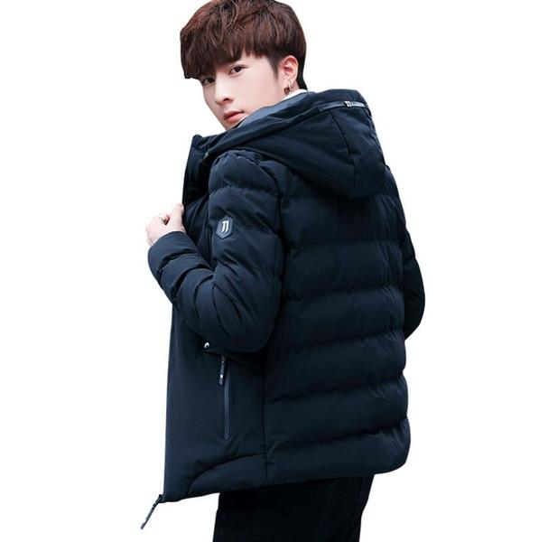 New Fashion Men's Designer Down Parkas Winter Mens Bomber Face Parka Outerwear Hooded Down Jacket Coat