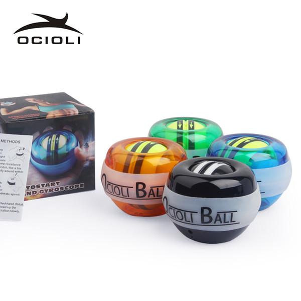 OCIOLI Power Explosive Training Gyroscrope Force Gyro Wrist Arm Exerciser Ball Hand Spinner Fitness Carpal Expander