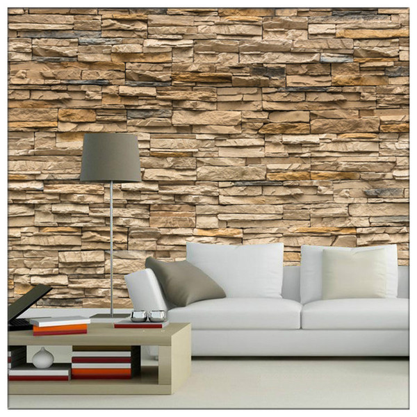 3d Papel Murals 3d Bricks Wallpaper For Tv Background Living Room Block Stone Photo Murals Wall Paper Wall Stickers Free Screensavers And Wallpaper