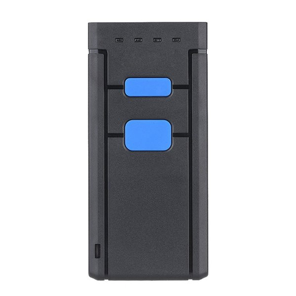 Mini Wireless Bluetooth Barcode Scanners Barcode Scanners CCD Reader Portable Wireless One Size Red Light