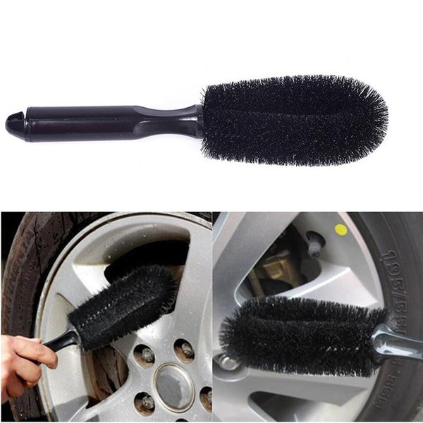 top popular New Car wheel brush wheel rims tire washing brush vehicle cleaning car scrub brush CS168 2021