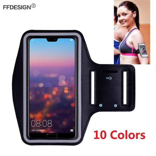 Arm Band Sports Gym Running Case Mobile Phone Holder On Hand Armband for Huawei P20 Lite P20 Pro Case Phone Bag on Hand Armband