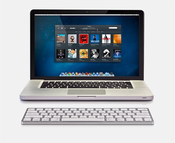 MAORONG TRADING Ultra-thin Bluetooth wireless and wired keyboard for iMac 21.5 27 inch magic keyboard for Macbook Pro