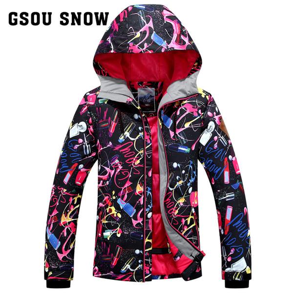Veste snowboard ski femme