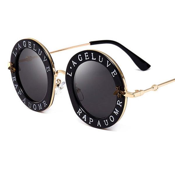 Nouvelle arrivée mode ronde lunettes de soleil marque design pour les femmes Marque Designer bonne qualité lunettes de soleil ovales voyage mode lunettes pour les femmes