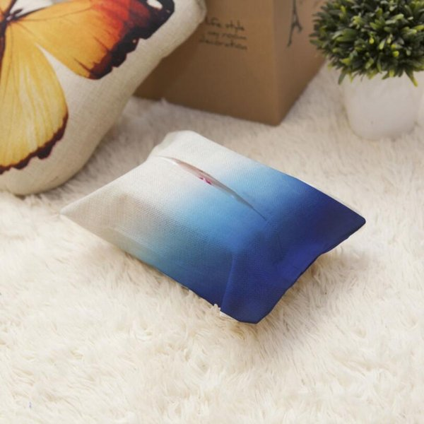 Colorful cloth Table Decoration Home Car Storage Tissue Case Box Container Towel Napkin Papers BAG Holder BOX Case Pouch AU974