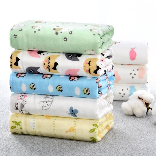 Baby Towel Suit Water Uptake Gauze Mouth Water Towel Quilt Children Infant Blanket Bibs Burp Cloths