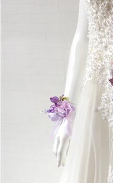 light purple wrist flowers