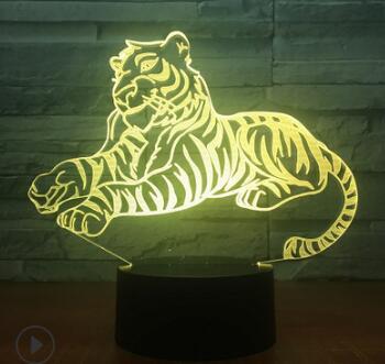 Du Acheter Lumière Chevet Coloré Cadeau Nouvelle14 Nuit Chambre 3d Électrique De Atmosphère Bureau Créatif 08 Lampe Tigre yNO0wPvnm8