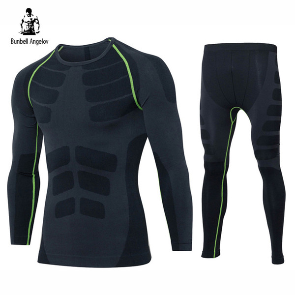 Winter Thermal Underwear Sets Long Johns Quick-Drying Breathable Men's Thermo Underwear Male Warm Body Shapers 2017 New Termico