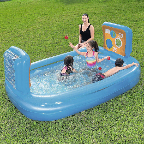 Inflatable Kids Skill Shot Swimming Paddling Play Pool Ball Pit Game Toy
