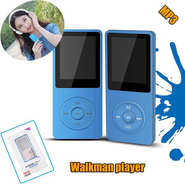 100% originale RUIZU MP3 Player economici Colorful Sport mp3 Walkman con schermo da 1,8 pollici, FM, E-Book, orologio, supporto Micro SD TF Cards