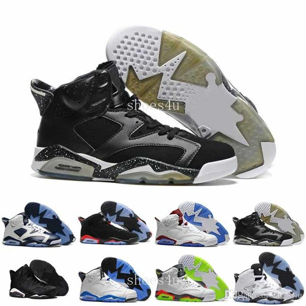 2017 New Arrival 6 VI Olympic Slam Dunk Basketball Shoes Men Athletic Trainers Sneakers 6s Top Quality Sports Shoes Size 41-47