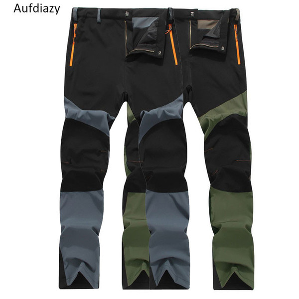 Aufdiazy Men's Quick Dry Ultra Thin Pants Summer Spring Male Outdoor Sports Fishing Trekking Trousers Camping Hiking Pants JM059 C18111401