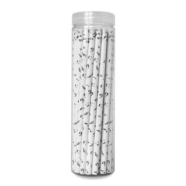 top popular Fashion Music Notes Pencils Fashion 2B Pencils Lovely Pencil Stationery For Kid's Gifts 36pcs 2021