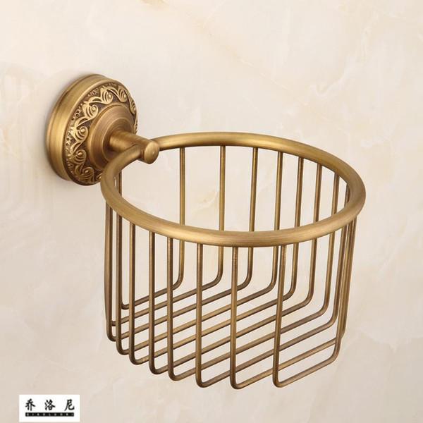 European style copper antique paper towel toilet paper holder towel holder antique bathroom hardware accessories p
