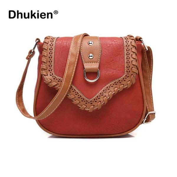 Vintage Small Bags for Women Pu Leather Messenger Bag Lady Shoulder Crossbody Bag Design Girl Saddle Bags bolsas feminina
