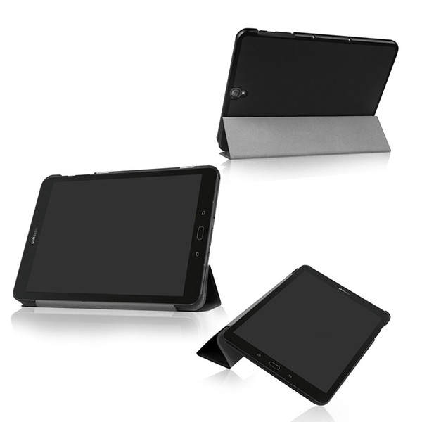 Cover Case for Samsung Galaxy Tab S3 S 3 TM-T820 T825 T829 9.7 Slim Magnetic flip 3 Folding pu leather Tablet cover