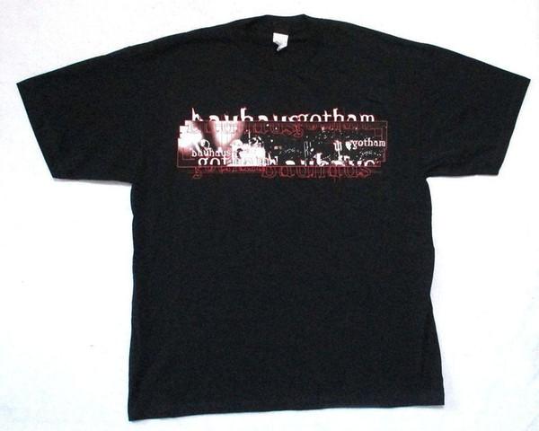 Bauhaus Gotham изображения черный взрослый футболка новый официальный гигант