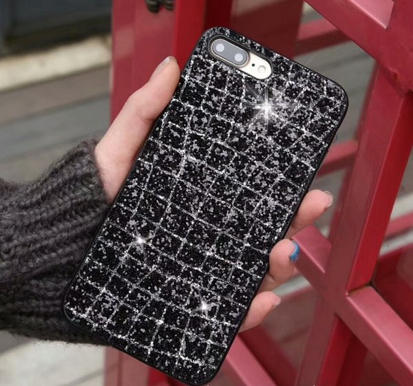 New Pattern Diamond mobile case TPU material Case mobile back cover for Iphone X/8/7/6