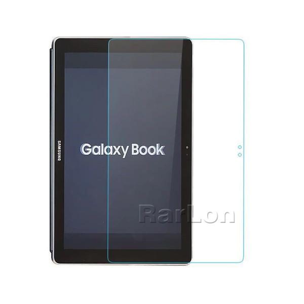 Para Samsung Galaxy Book 10.6 pulgadas Protector de pantalla de vidrio templado Thin 9H Dureza 2.5D Borde redondo para Tab S3 Tab A A2S T380 T560 Tab E T377