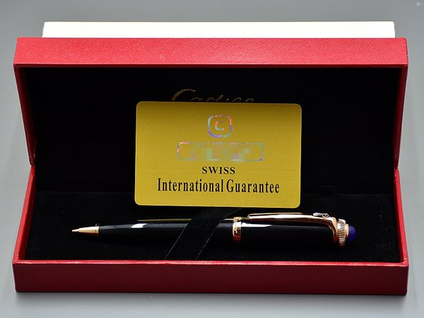Best Christmas gift - with Luxury Box packaging High quality Cartler Brands Metal Ballpoint pen Ball pens stationery school office supplies