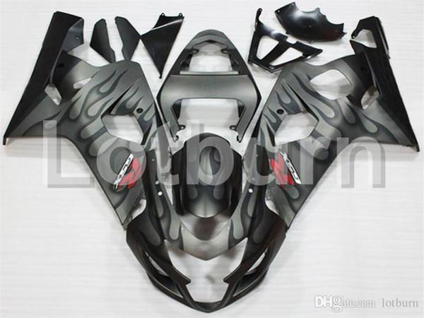 Plastic Fairing Kit Fit For Suzuki GSXR GSX-R 600 750 GSXR600 GSXR750 2004 2005 K4 04 05 Fairings Set Custom Made Motorcycle Bodywork A300