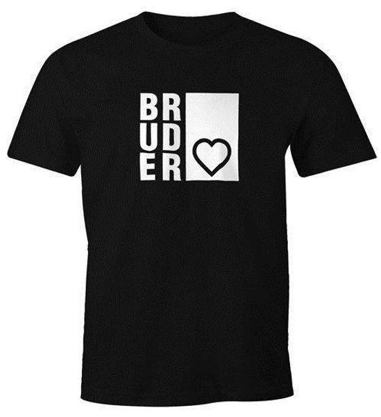 T-Shirt Bruderherz Bruder Geschenk Geburtstag FunShirt Yaz Kısa Kollu tshirt sıcak yeni moda en ücretsiz kargo 2018 gömlek