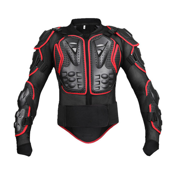 top popular Motorcycle Jacket Men Full Body Motorcycle Armor Motocross Racing Protective Gear Motorcycle Protection 2021
