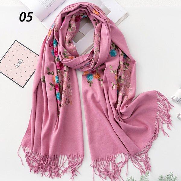 05 Pi Pink Scarf