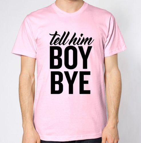 O'na Hoşçakalın T-ShirtFunny ücretsiz kargo Unisex Casual tee hediye söyle