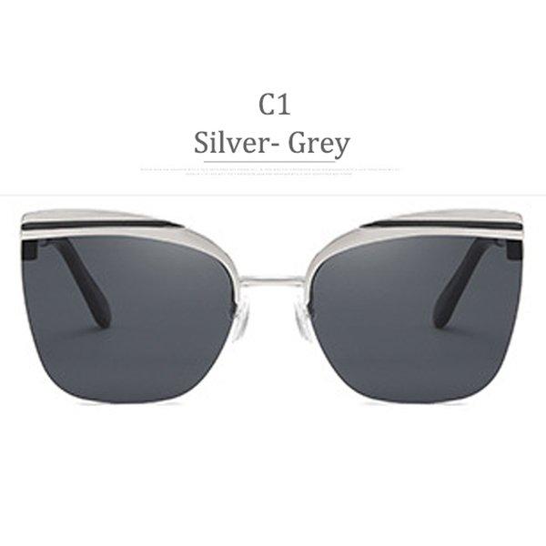 C1 Obiettivo grigio in argento grigio