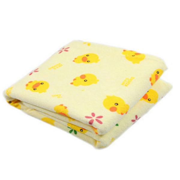 Portable bébé matelas à langer infantile voyage à la maison mignon coton imperméable à l'eau pad tapis de lit couverture de literie de changement de couche