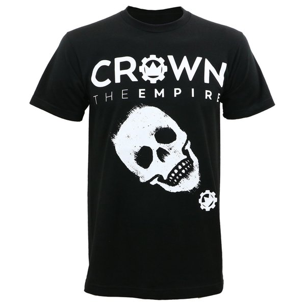 Authentic Crown The Empire Crown Skull Slim-Fit T-Shirt S-2Xl New Tee Men Short Sleeve 100% Cotton Tee Summer O-Neck Teenager Tshirt