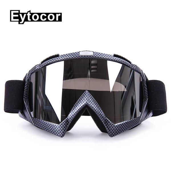 EYTOCOR Motocross Goggles Glasses Cycling Eyewear Man&Women Motocross Goggles Glasses Motorcycle Dirt Bike Racing