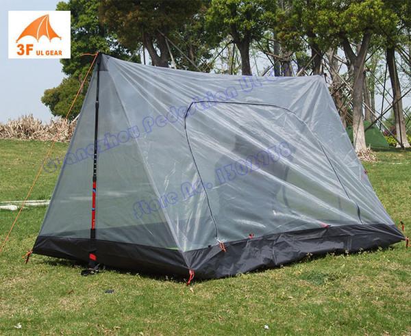 3F Gear outdoor summer tent HIKER ultralight 2 person inner camping tent