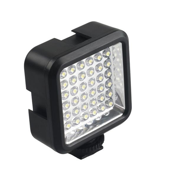 Lightdow LD-36 LED Video Kamera Işık Kısılabilir Kamera Paneli Lambası Gopro 2/3/4/5/6 SJCAM Xiaoyi Canon Nikon DSLR Kameralar