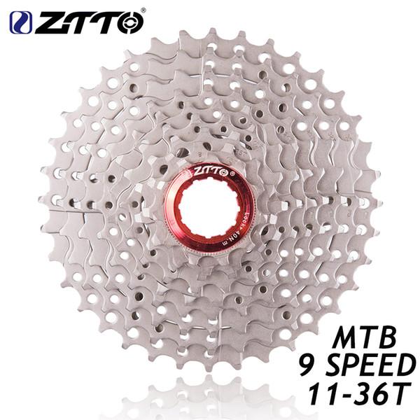 HITO ZTTO MTB Bike Parts 9Speed 11-36T Freewheel Cassette Compatible for Parts m370 M430 M4000 M590 M3000