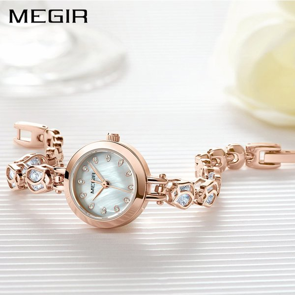 Luxury Women Bracelet Watches Top Brand Rose Gold Fashion Dress Ladies Lovers Wrist Watch Clock Women