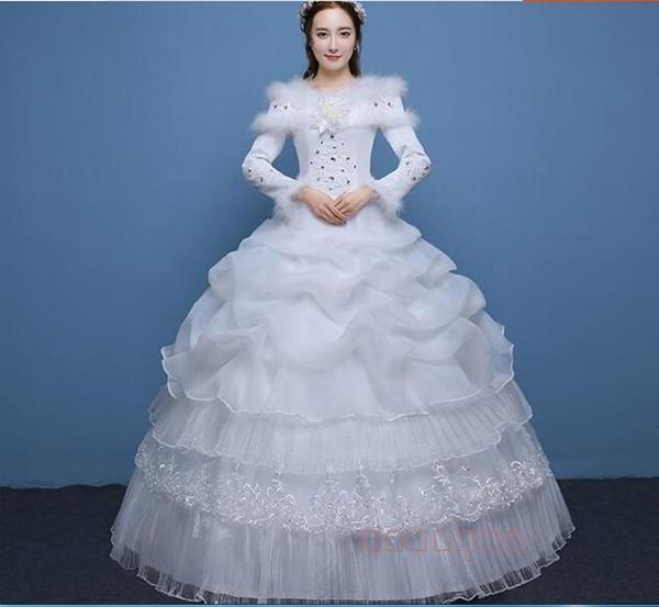 New Arrival Wedding Dress 2018 Cheap Cheap Long Bridal Gowns Cheap ...