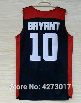 2012 Kobe Bryant Basketball Jerseys der Dream Team USA London-Spielmänner der Größe 10 S-XXL Freies Verschiffen