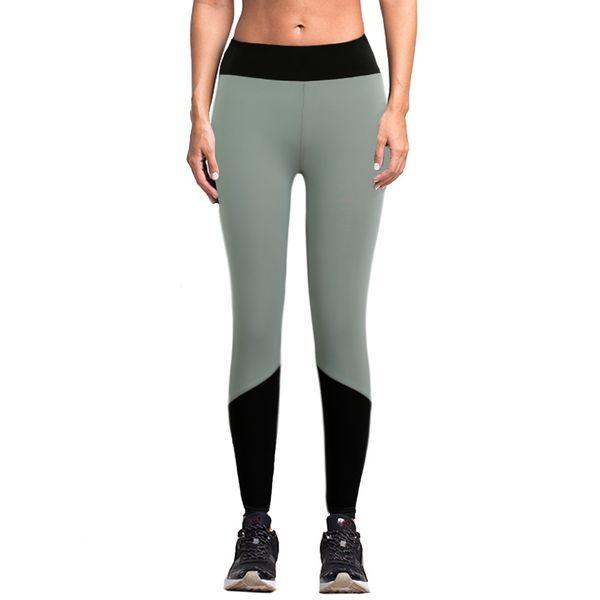2019 Casual Sporting Leggings Sexy cintura alta estirada ropa de entrenamiento Spandex de secado rápido para mujer Leggings Fitness Active pant
