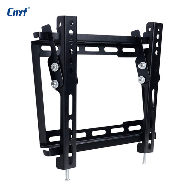 Cnyf Universal Tv Stand Wall Mount Tv Bracket Holder For Most 12 42 Inch Hdtv Flat Panel Lcd Plasma Tv Cables Audio Receivers From Electpop 28 71